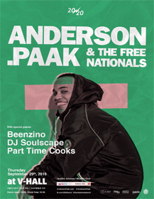 20/20 Presents Anderson .Paak & The Free Nationals Live in Seoul