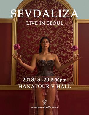 SEVDALIZA LIVE IN SEOUL