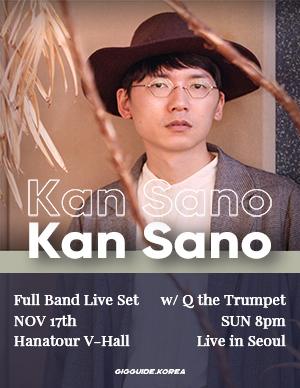 Kan Sano Live in Seoul