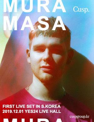 MURA MASA (무라마사) 첫 라이브셋 내한 공연
