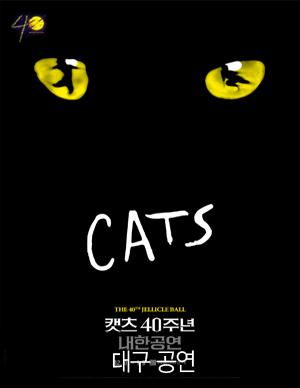 뮤지컬 <캣츠> 40주년 내한공연 - 대구 (